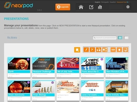 How to Create a Nearpod Presentation | Teaching Primary School | Scoop.it