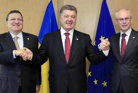 Ukraine signs historic pact with EU despite Russia :: WRAL.com | News You Can Use - NO PINKSLIME | Scoop.it