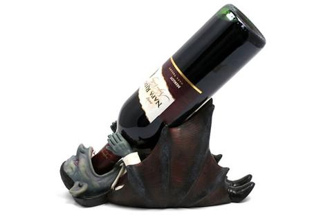 Vampire Wine Bottle Holder [Pic] | DaVinaVino's World | Scoop.it