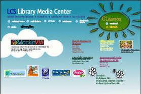 Laurens Central School Library Media Center | Wix.com | School library websites | Scoop.it