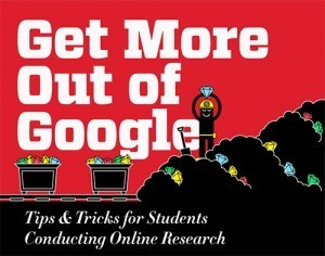 Get more out of Google: Tips for students doing online research [infographic] | Internet Governance, IT and e-learning | Scoop.it
