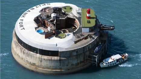 These abandoned sea forts have been turned into luxury hotels | Strange days indeed... | Scoop.it