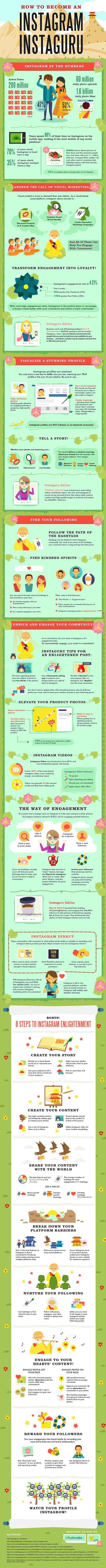 How To Become An Instagram Guru [Infographic] | Marketing with Instagram | Scoop.it