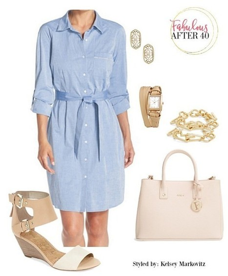 3 Chic Ways to Wear A Chambray Shirtdress | Small Business | Scoop.it