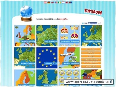 Toporopa: jocs de geografia | Geografía, una ciencia comprometida | Scoop.it
