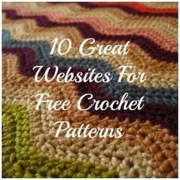 10 Great Websites For Free Crochet Patterns | tejidos | Scoop.it