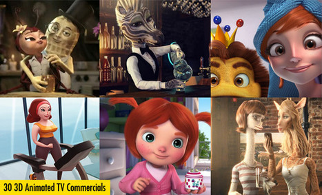 30 Best 3D Animated TV Commercial Videos for your inspiration | arte y cultra | Scoop.it