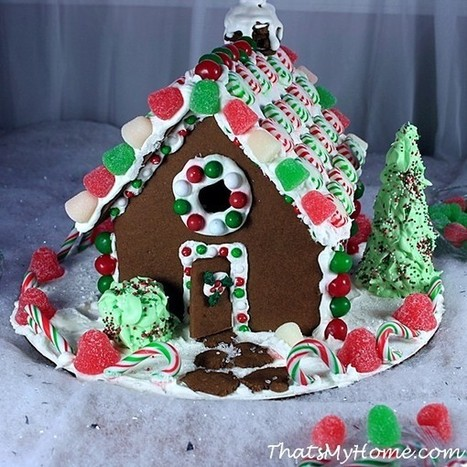 Christmas Gingerbread House - That's My Home   Food   Scoop.it