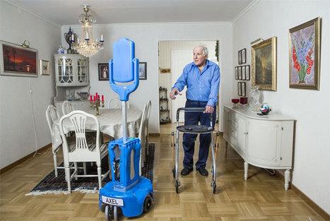 Giraff : un robot au service des personnes âgées - Senior Actu | etre un senior dependant dans la marne (test) | Scoop.it