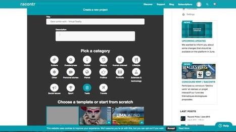 Schritt für Schritt zur Webreportage: Racontr | MEDIACLUB | Scoop.it
