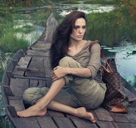Angelina Jolie au Cambodge pour Louis Vuitton | Voyager Au Cambodge | Voyage Cambodge | Scoop.it