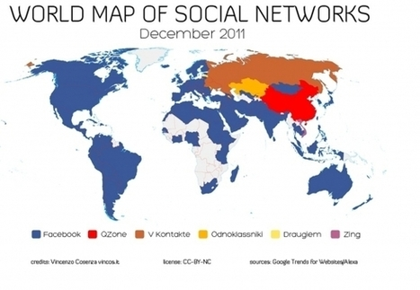 Mapping social media trends around the world | Gestion de contenus, GED, workflows, ECM | Scoop.it