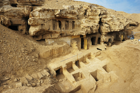 In Photos: Tomb Painting Discovered Near Great Pyramid of Giza | Egiptología | Scoop.it