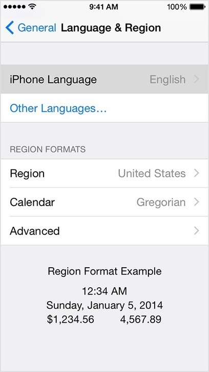 Change the language on your iPhone, iPad, or iPod touch - Apple Support | Better teaching, more learning | Scoop.it