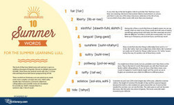 10 Summer Words To Master During Your Vacation | Mobile Phones and  Language Learning | Scoop.it
