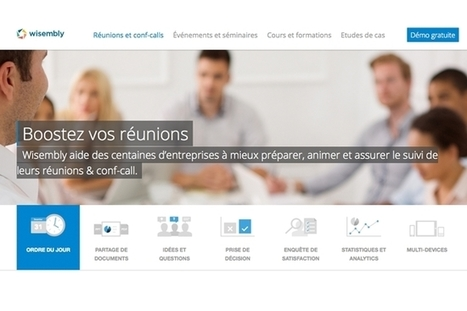 5 solutions interactives pour améliorer les réunions en entreprise | CRAKKS | Scoop.it
