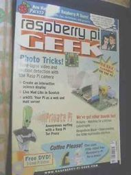 'Raspberry Pi GEEK' magazine, 2013, retro gaming robot, inc. Linux software DVD | Raspberry Pi | Scoop.it
