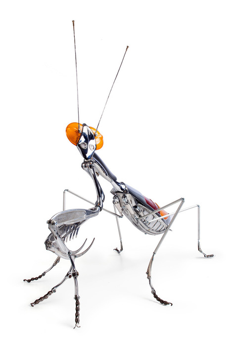 Edouard Martinet's Masterfully Sculpted Animals and Insects Made from Bicycle, Car, and Motorcycle Parts | CLOVER ENTERPRISES ''THE ENTERTAINMENT OF CHOICE'' | Scoop.it