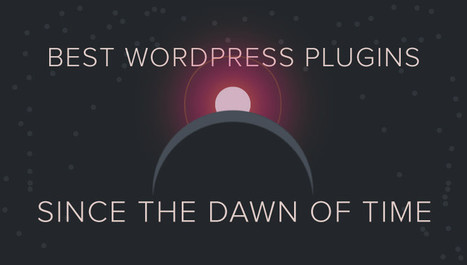 The Best WordPress Plugins Since the Dawn of Time | Wordpress-Core-Capability | Scoop.it