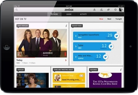 Zeebox Second-Screen TV App Introduces SpotSynch As It Gets Cozier With Advertisers -- AppAdvice | screen seriality | Scoop.it