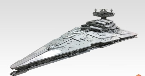 Star Destroyer em LEGO mede mais de 2 metros e pesa 50kg | Heron | Scoop.it