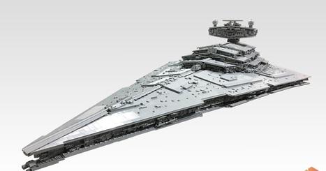 Star Destroyer em LEGO mede mais de 2 metros e pesa 50kg | Heron | Scoop.it