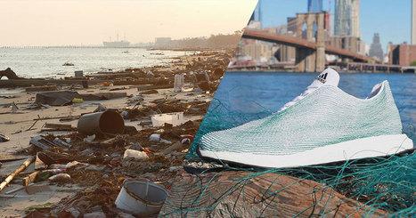 Des baskets fabriquées à partir de déchets récupérés dans la mer | 694028 | Scoop.it