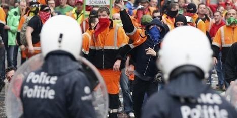 Manifestations anti-austérité monstres à Bruxelles - La Tribune.fr | Syndicats Europe Monde | Scoop.it