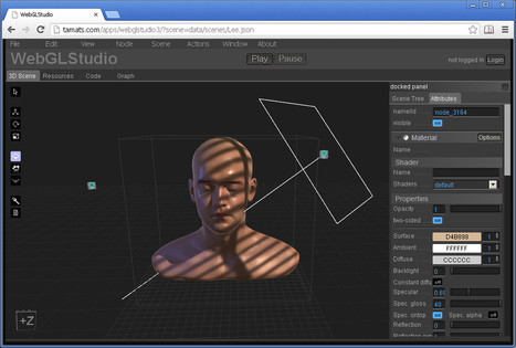 WebGLStudio - 3D modelling in the Browser | JavaScript for Line of Business Applications | Scoop.it