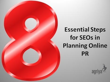 Techandmarket: 8 Essential Steps for SEOs in Planning Online PR | Technology and Marketing | Scoop.it