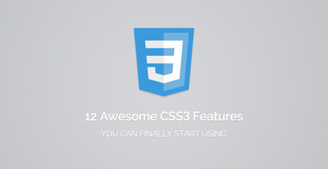 12 Awesome CSS3 Features That You Can Finally Start Using | Tutorialzine | UX & Human Factors | Scoop.it