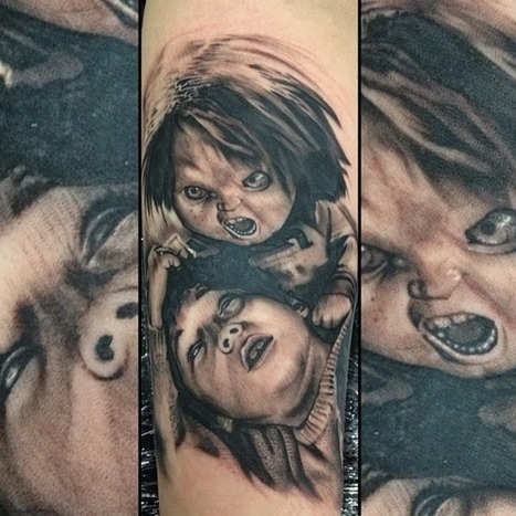 PingMe Sharing - Artsnapper Inc.: Snapped and Artwork by @rafaelcassaro▪Do you remember #chucky? | Best Urban Art | Scoop.it