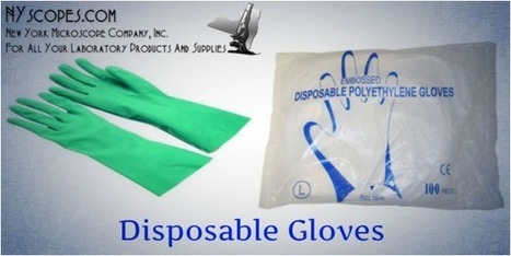 Which Are Commonly Used Laboratory Disposable Gloves? | The Medical Supplies You Use | Scoop.it