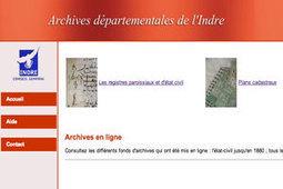 GénéInfos: L'état civil de l'Indre remis en ligne début 2013 | Auprès de nos Racines - Généalogie | Scoop.it