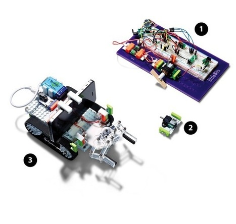 How littleBits Engineers Turn Their Ideas Into DIY Kits #makereducation | Heron | Scoop.it