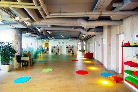 Google Russia Offices | Diseño de oficinas y espacios comerciales | Scoop.it