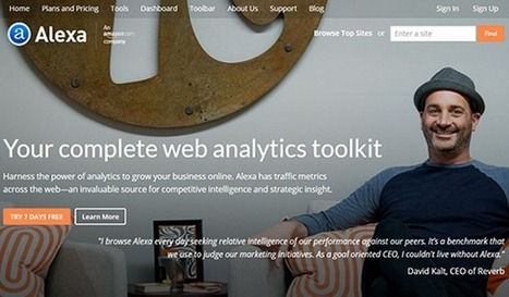 10 Examples of Tools for Website Competitive Research and Intelligence | Competitive Intelligence | Scoop.it