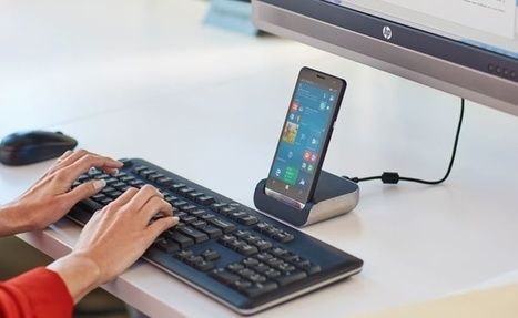 [MWC 2016] : HP Elite x3, un smartphone 3 en 1 vraiment bluffant | Presse-Citron | Digital Publishing, Applications tablettes et smartphones | Scoop.it