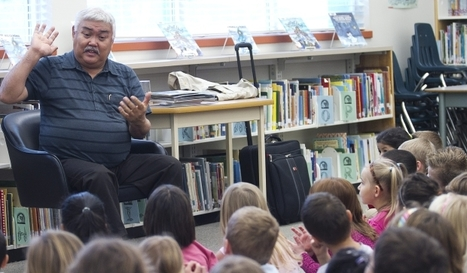 Vancouver Island Inuit storyteller inspired by kids | AboriginalLinks LiensAutochtones | Scoop.it
