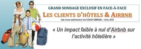 Sondage exclusif sur les clients d'hôtels et Airbnb - Coach Omnium | E-tourisme | Scoop.it