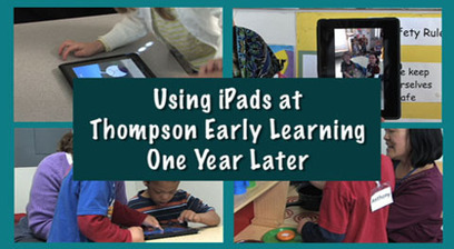 Results Matter Video Library iPads in Early Childhood | iPad and Early Learners | Scoop.it