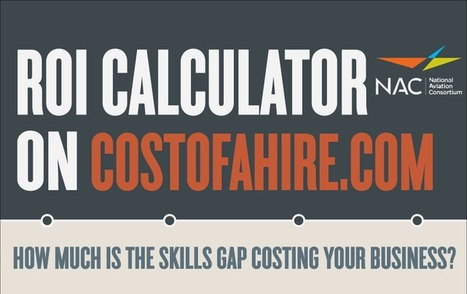 Just Released! #ROI Calculator - Find out how the #SkillsGap effects your business | Manufacturing In the USA Today | Scoop.it