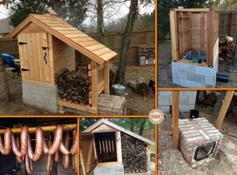 Build Your Own Backyard Smokehouse! | Fun DIY Creative Ideas and Crafts | Scoop.it