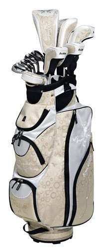 Tour Edge Moda Silk Ladies 20-Piece Golf Box Sets - Champagne/White (RH Only) | Golf Bags | Scoop.it