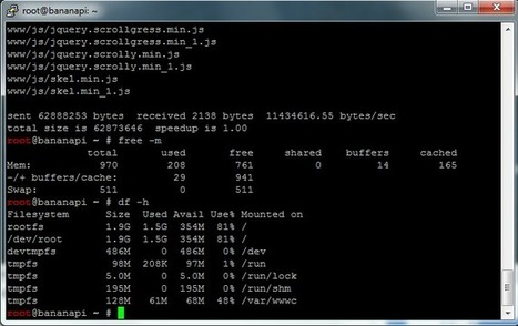 Speed up Apache2 Banana Pi Web Server with RAM Cache | Linux and Open Source | Scoop.it