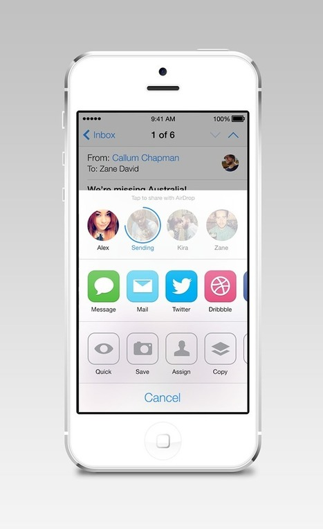 "iOS7 Icon Backlash: Designers Take to Dribbble to ""Vent Design"" 