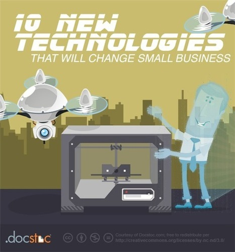 Top 10 New Technologies That Will Change Small Business | Small Business Marketing | Scoop.it