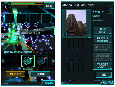 It's Evolving: Google's Augmented Reality 'Ingress' Gives Players New Creative Outlets | Gaming | TechNewsWorld | The_storyFormula: story worlds & wearables! | Scoop.it