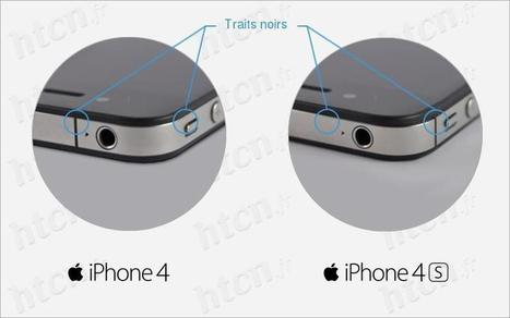 Reconnaitre une iPhone 4 d'un 4S - HTCN Blog | HTCN | Scoop.it