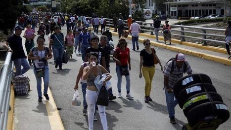 Réouverture de la frontière entre la Colombie et le Venezuela: fanfare à Cúcuta | Venezuela | Scoop.it